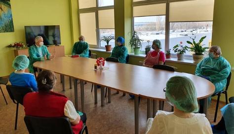 Dėl Alytaus medicininės reabilitacijos ir sporto centro reorganizavimo Seimo narys Vytautas Bakas kreipėsi į tarybos narius